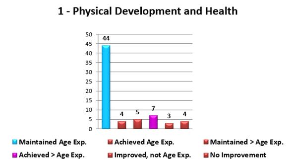 Aggregate Child Progress Report - Column Chart (1)